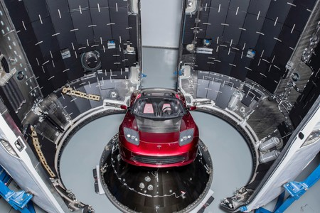 Tesla Roadster Spacex 1
