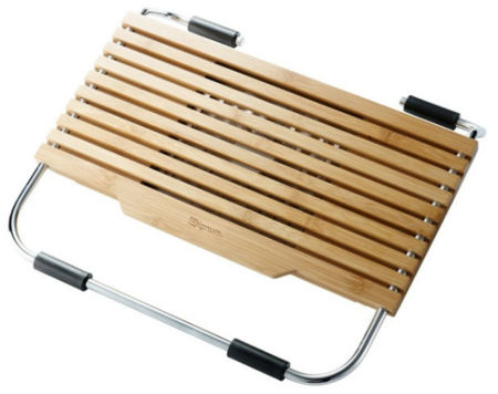 Bases para portátiles fabricadas en bambú