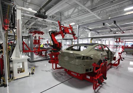 Tesla factoría fremont