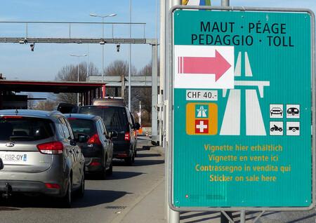 Swiss Border Vignette