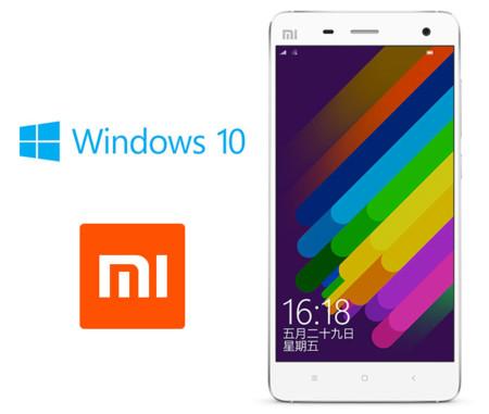 La ROM de Windows 10 para el Xiaomi Mi4 llegará el 1 de junio
