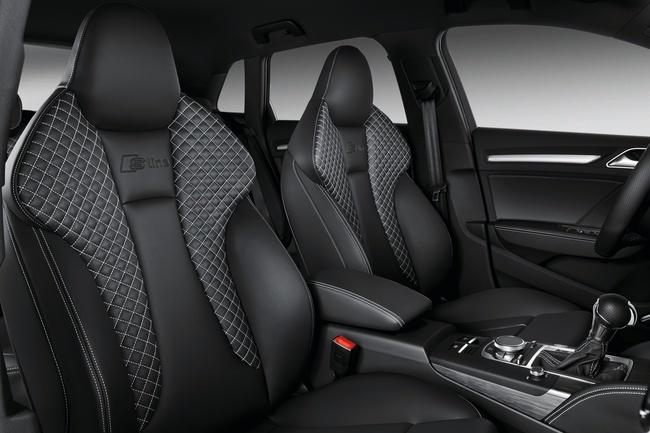 Audi A3 Sportback, acabados