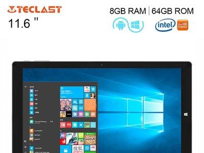 Venta Flash: tablet Teclast Tbook 16 Power, con 8GB de RAM, por 255,59 euros