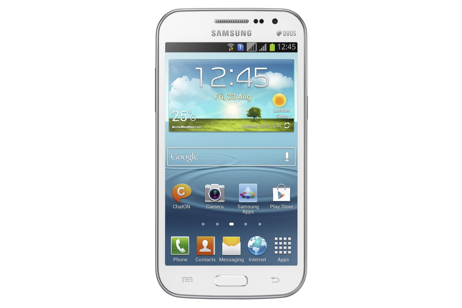 Foto de Samsung Galaxy Win, imágenes oficiales (1/6)