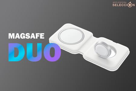 El cargador doble MagSafe de Apple para iPhone, Apple Watch y AirPods baja a 99 euros [AGOTADO]