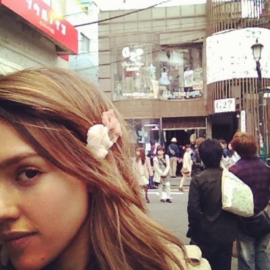 Foto de Jessica Alba y su excursión familiar a Japón (7/7)
