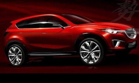 Mazda Minagi, ¿el hermanito pequeño del CX-7?
