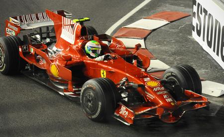 Felipe Massa 2008 Singapur