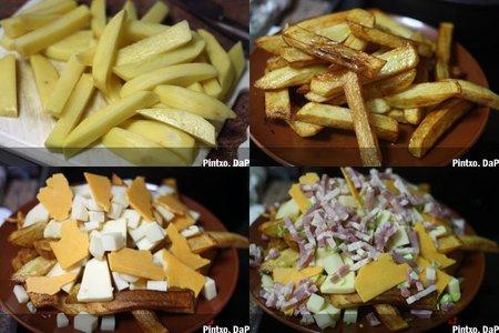 Avalancha de patatas. Pasos