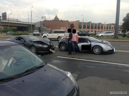Dolorpasión™: el Aston Martin DB9 que le dio por detrás al Bugatti Veyron