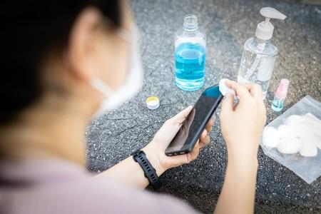 Desinfectar Limpiar Smartphone Correctamente