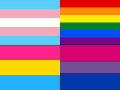 Guía rápida para no perderte entre las muchas banderas e identidades del Orgullo LGBTI