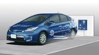 Toyota prueba la recarga inalámbrica de híbridos y eléctricos en Japón