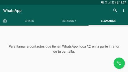 Llamada WhatsApp