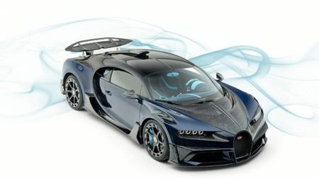 El Bugatti Chiron de Mansory es el brutal ultracoche aún más