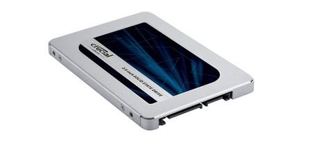 """2 TB y """"supervelocidad"""" para tu ordenador con el SSD Crucial MX500 por 249,99 euros en Amazon"""