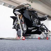 Triumph y Julito Simón ya han puesto en pista su Moto2 prototipo con centralita Magneti Marelli