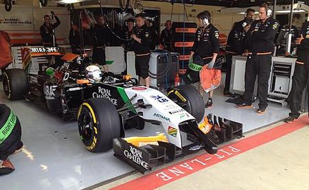 Dani Juncadella 2014 Silverstone Test