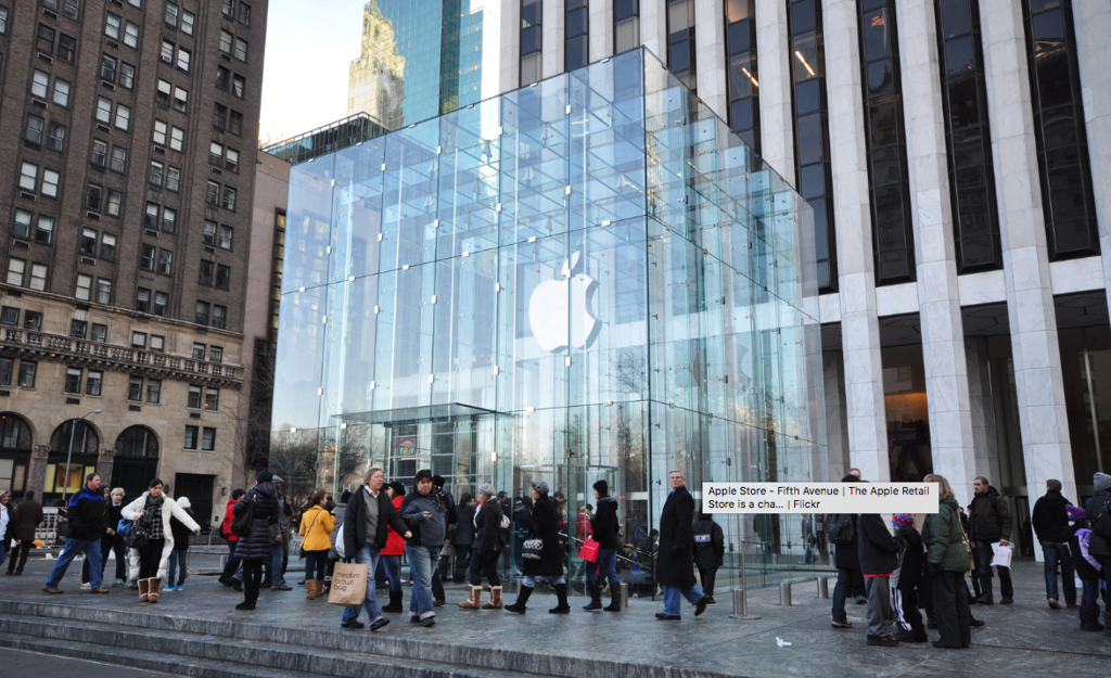 Apple Store Quinta Avenida Nueva York
