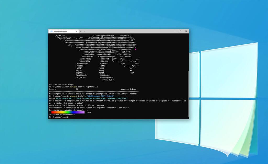 Winget, el nuevo gestor de paquetes de Windows 10, ya permite instalar apps de la Microsoft Store: te explicamos cómo usarlo