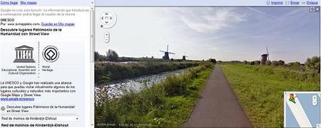 Paseos virtuales, con Google, por los sitios Patrimonio Histórico de la Humanidad