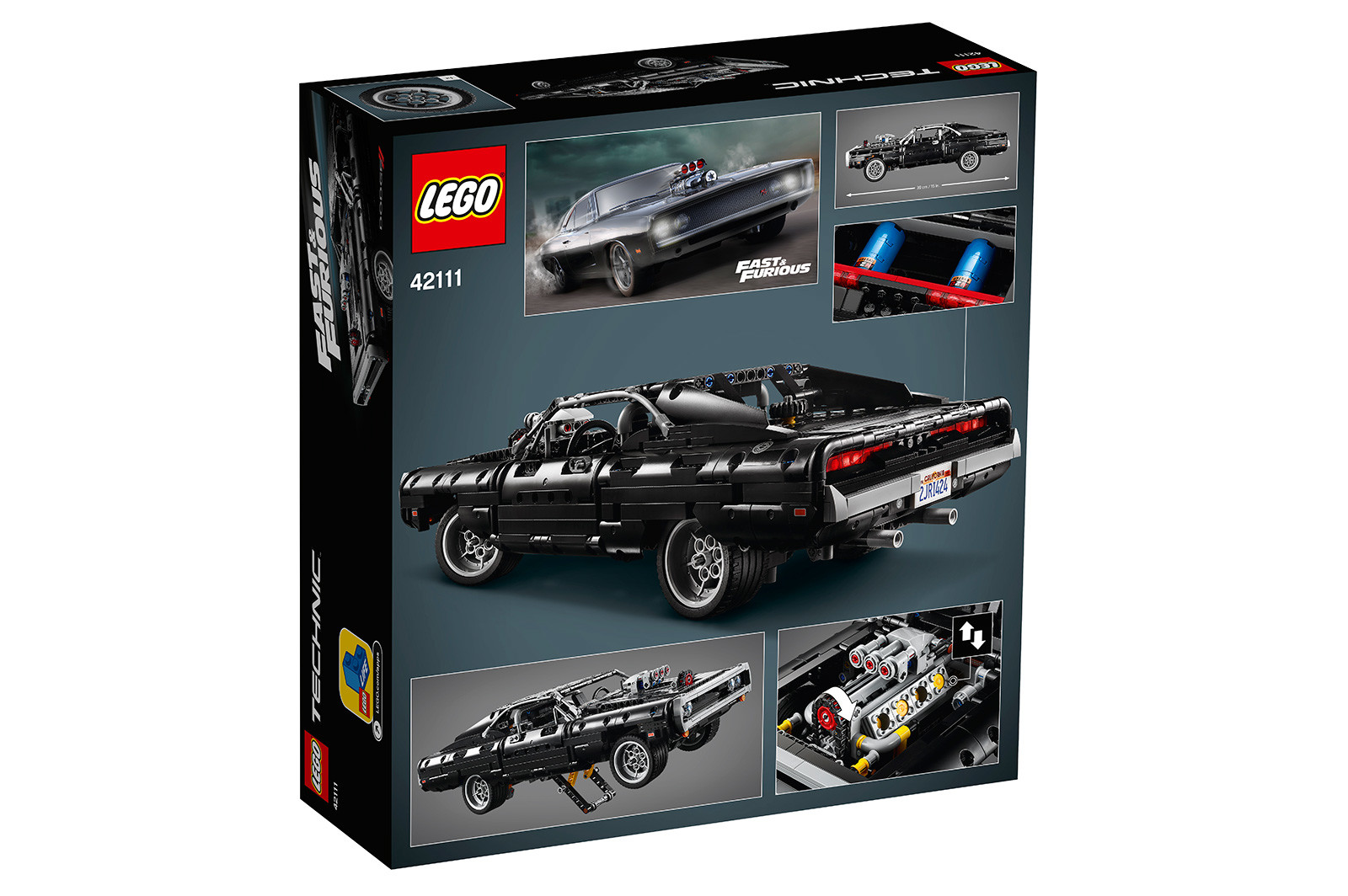Foto de LEGO Technic Dom's Dodge Charger (17/18)
