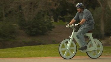¿Una bicicleta de cartón? Es posible