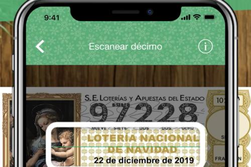 Cómo comprobar los décimos de lotería premiados del Sorteo de Navidad 2019 desde el móvil