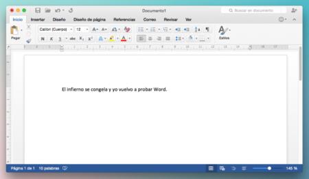 Microsoft 2016 Office Mac Word