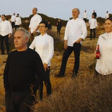 Todos los chefs que aparecen en un famoso anuncio de cerveza y sus restaurantes con estrella Michelin (que estamos deseando visitar)