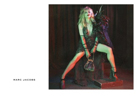Courtney Love Marc Jacobs Fall 2016 Campaign
