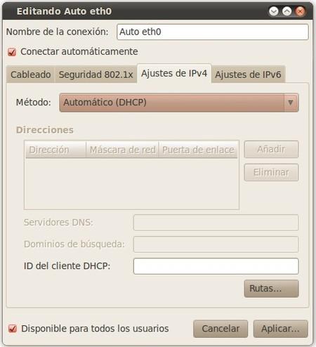 Ubuntu IP