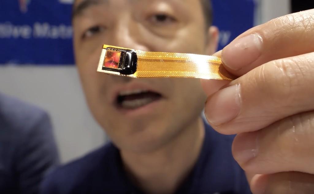 Este panel microLED alcanza un brillo de 2.000.000 nits y una densidad de 10.000 ppp