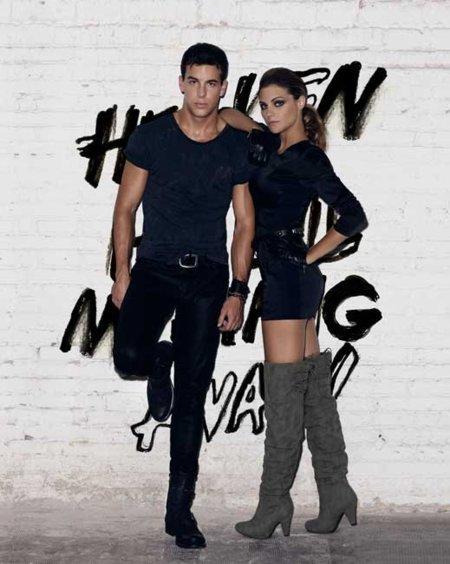 Amaia Salamanca y Mario Casas imagen de la campaña Mustang Otoño-Invierno 2010/201