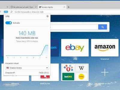 Opera estrena su VPN integrada en la versión final