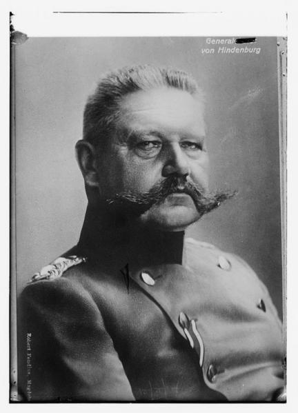 General von Hindenburg