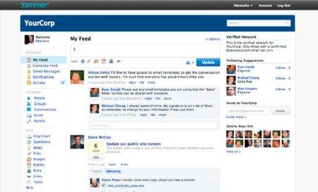 Microsoft apuesta por las redes sociales corporativas con la compra de Yammer