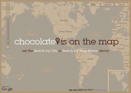 Chocomap una herramienta indispensable para los adictos al chocolate