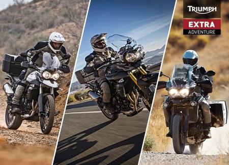 Triumph Extra Adventure: una ayuda al cliente en tiempos de crisis