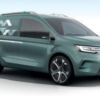 Renault Kangoo Z.E. Concept, así de atractiva será la nueva generación del utilitario francés