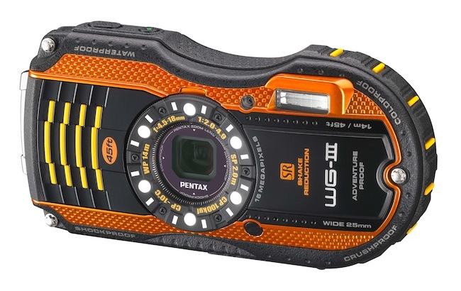 Pentax WG-3 en color naranja