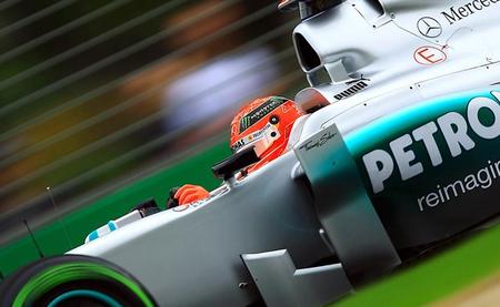 ¿El retorno del Kaiser? De momento Michael Schumacher tiene el mejor tiempo