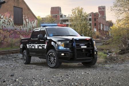 2018 Ford F-150 Police Responder: la primera pick-up con clasificación 'Pursuit' para persecuciones