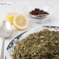 Receta de cuinat. Guiso ibicenco de Viernes Santo con verduras y legumbres