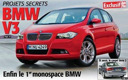 BMW V3: El primer monovolumen de BMW