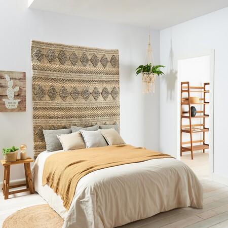 Decoración boho dormitorio