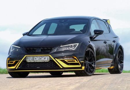 ¡Rey de reyes! Je Design lleva el SEAT León Cupra hasta 375 hp
