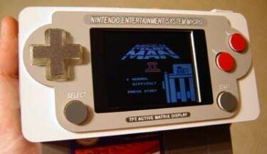 NES Micro, haz tu propia NES portátil