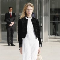 Natalia Vodianova en Louis Vuitton