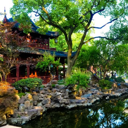 Jardín de Yuyuan (China)